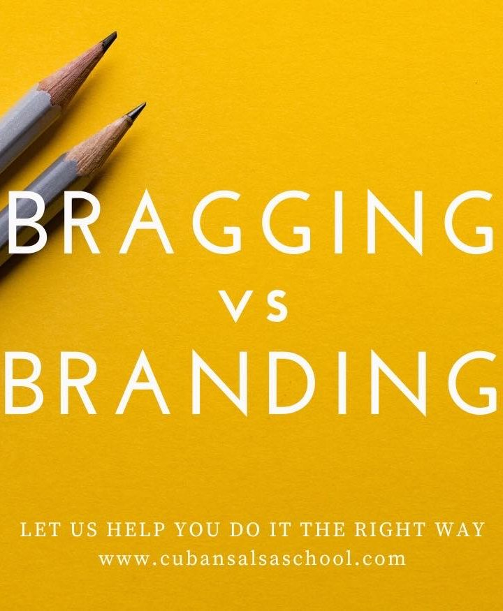 Bragging vs. Branding as Dance Instructors